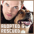 Animals: Rescued and Adopted:
